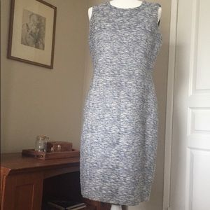 Tweed Calvin Klein Classic Sheath Dress size 14